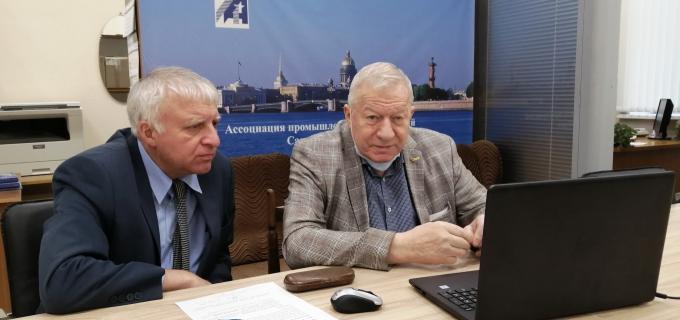 Президент АПП СПб Радченко В.А. и советник Президента АПП СПб Бельфер С.М