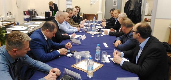 Совещание под руководством В.А. Радченко Президента АПП СПб